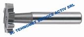 Freza pentru canale T DIN 850 HSS Co
