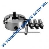 Universal 160 mm autocentrant de precizie cu 6 bacuri