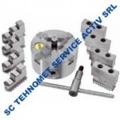 Universal 160 mm autocentrant de precizie cu 12 bacuri