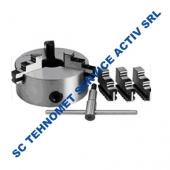 Universal 200 mm autocentrant de precizie cu 6 bacuri